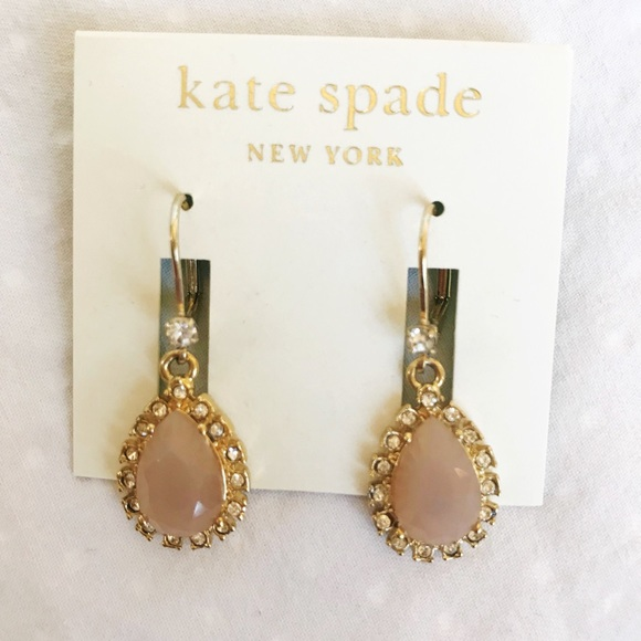 kate spade Jewelry - Brand New Kate Spade Pink Dangle Earrings